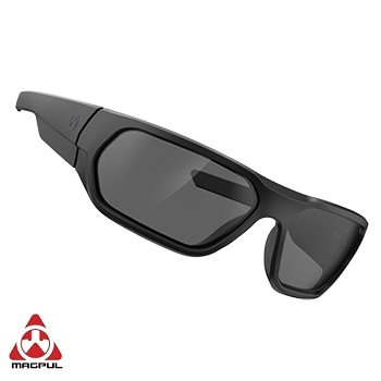 Magpul ® Radius Eyewear, Black Frame - Grey Lens (Polarized)