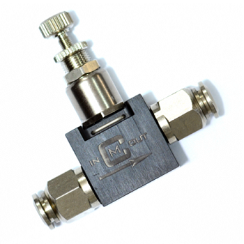 Mancraft Co² / HPA Inline Micro Regulator - 6mm zu 4mm