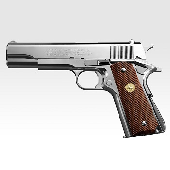 Marui Colt Government 1911 Series'70 GBB - Nickel Finish