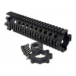 MadBull x Daniel Defense 7.62 Lite Rail (9 inch) - Black