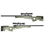 WELL MB01 Type96 / L96 Sniper Rifle Set Tuned 580 FPS - Olive