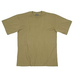 MFH US T-Shirt (160g/m²), Coyote - Gr. S