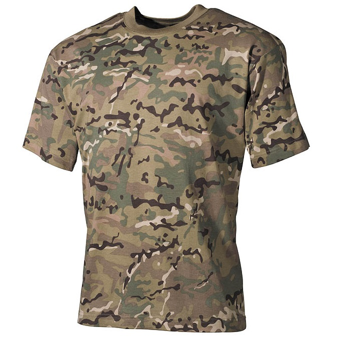MFH US T-Shirt (170g/m²), MultiCam - Gr. XL