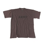 "MFH US T-Shirt ""ARMY"", olive - Gr. M"