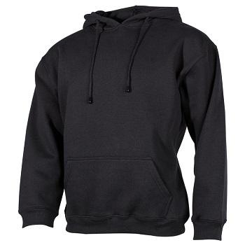 "MFH Kapuzen Sweatshirt ""PC"" (340g/m²), Schwarz - Gr. XL"