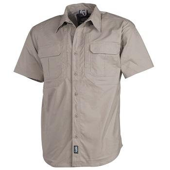 "MFH Tactical Hemd""Strike"" (kurzarm), Khaki - Gr. XL"