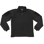 MFH US Combat Shirt, Black - Gr. L