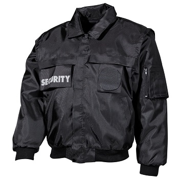 "MFH Blouson ""Security"", Schwarz - Gr. L"