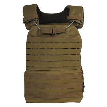 "MFH Tactical Weste ""Laser Molle"" - Coyote Tan"