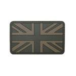 MFH 3D Abzeichen mit Klett, Grossbritannien - Olive