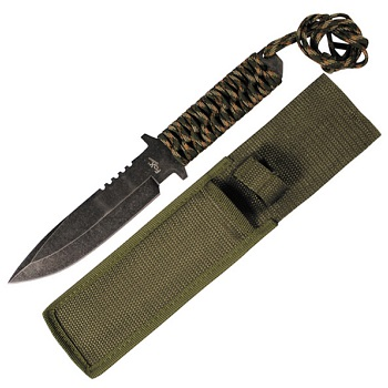 "MFH Messer ""Stonewashed"", Camo Griff"