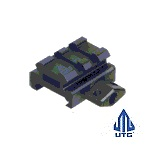 Leapers ® UTG 2-Slot Mount Riser - Low Profile