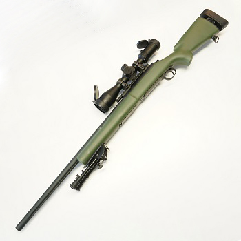 Custom Modify MOD24 / M24 SF Spring Sniper Rifle (Tuned) Set - Olive