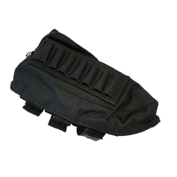 Modify Rifle Stock Ammo Pouch - Black