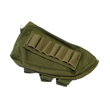Modify Rifle Stock Ammo Pouch - Olive