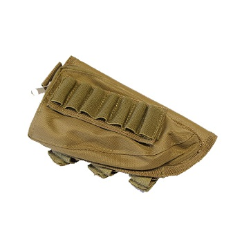 Modify Rifle Stock Ammo Pouch - Desert