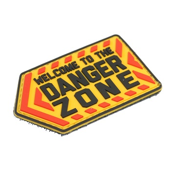 MSM ® Danger Zone PVC Patch - Color