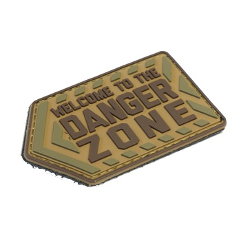 MSM ® Danger Zone PVC Patch - MultiCam