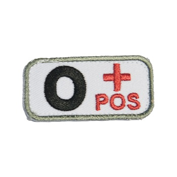 MSM ® Bloodtype 0+ Patch - Medical