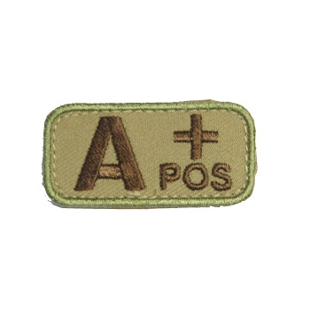MSM ® Bloodtype A+ Patch - MultiCam