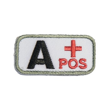 MSM ® Bloodtype A+ Patch - Medical