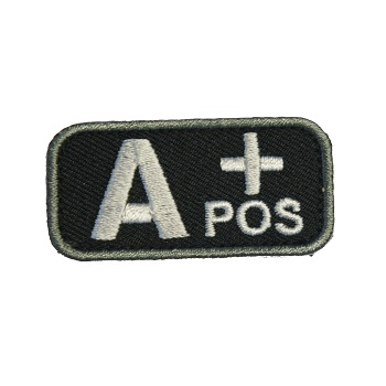 MSM ® Bloodtype A+ Patch - SWAT