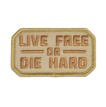 MSM ® Live Free or Die Hard Patch - Desert