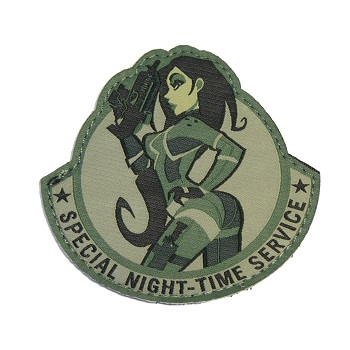 MSM ® Special Night-Time Service Patch - ACU