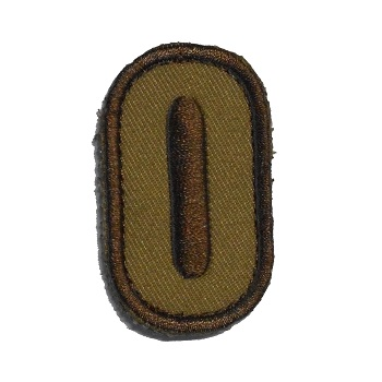 MSM ® Tac-Number 0 Patch - Desert