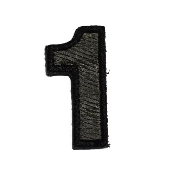 MSM ® Tac-Number 1 Patch - ACU Dark
