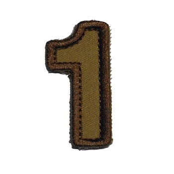 MSM ® Tac-Number 1 Patch - Desert