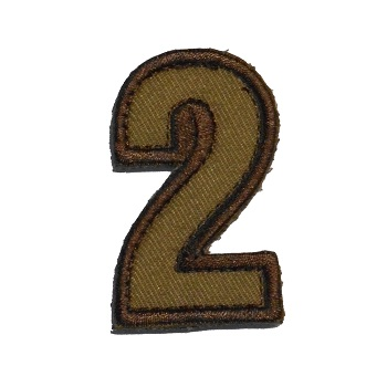 MSM ® Tac-Number 2 Patch - Desert