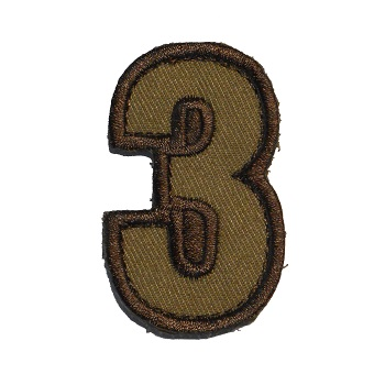 MSM ® Tac-Number 3 Patch - Desert