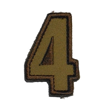 MSM ® Tac-Number 4 Patch - Desert