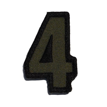 MSM ® Tac-Number 4 Patch - Forest