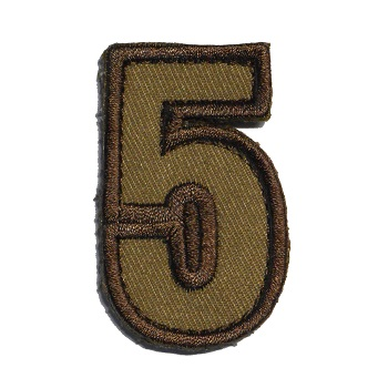 MSM ® Tac-Number 5 Patch - Desert