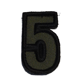 MSM ® Tac-Number 5 Patch - Forest