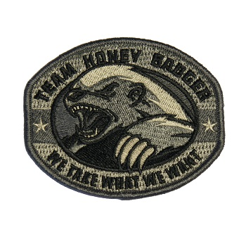 MSM ® Honey Badger Patch - ACU