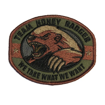MSM ® Honey Badger Patch - Forest