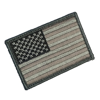 MSM ® US Flag Patch - ACU Dark