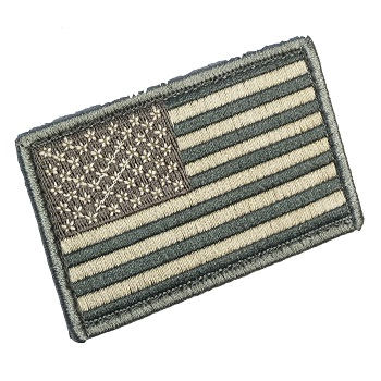 MSM ® US Flag Patch - ACU Light