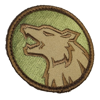 MSM ® Wolf Head Patch - MultiCam