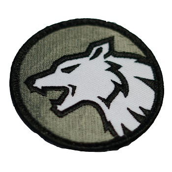 MSM ® Wolf Head Patch - SWAT