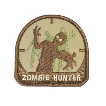 MSM ® Zombie Hunter Patch - ARID
