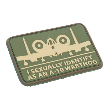 MSM ® A-10 Sexual PVC Patch - MultiCam