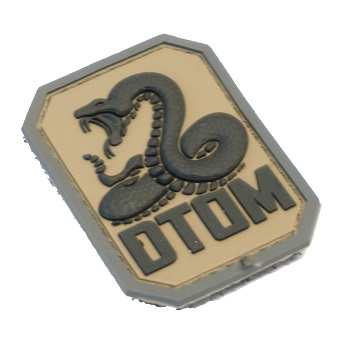 MSM ® DTOM PVC Patch - ACU Dark