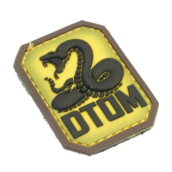 MSM ® DTOM PVC Patch - Color
