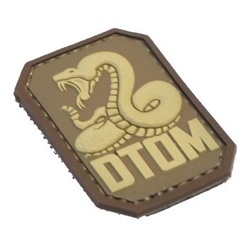 MSM ® DTOM PVC Patch - Desert