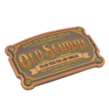 MSM ® Old School PVC Patch - Bronze