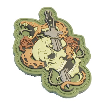 MSM ® Skull Snake PVC Patch - MultiCam